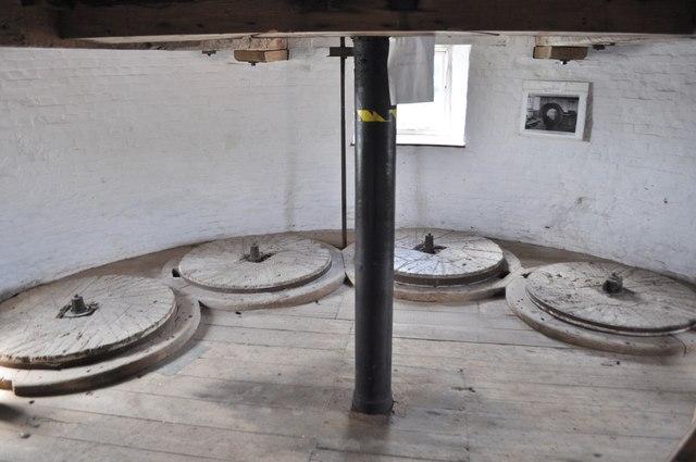 Old Buckenham Mill - Stone Floor