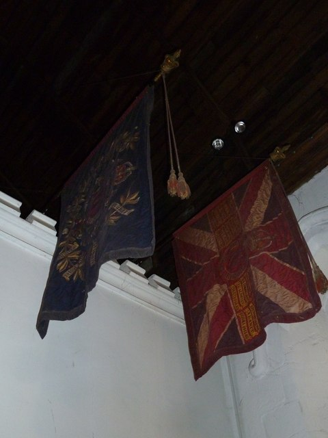St Mary, Horsham- ancient flags