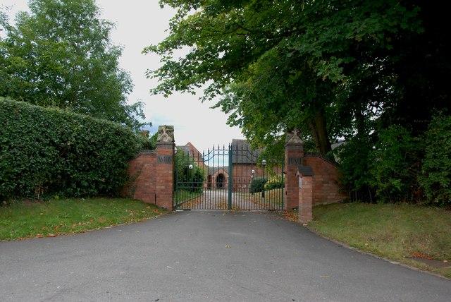 Entrance to Aston Hall