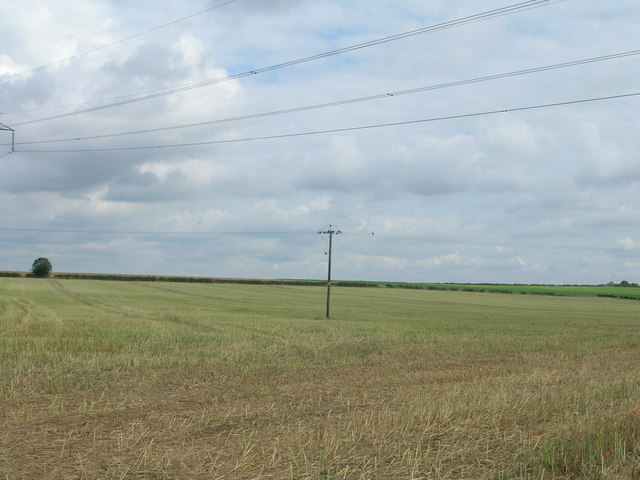 Farmland off the B6463