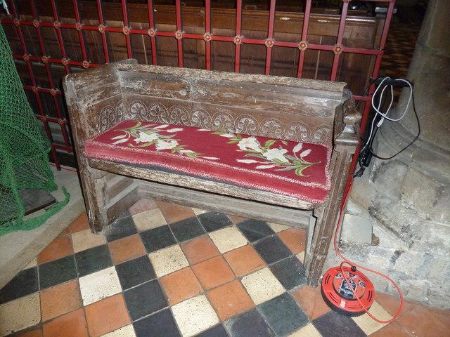St Mary, Horsham- ancient seat