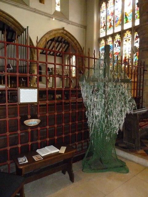 St Mary, Horsham- prayer net (2)