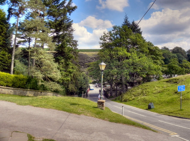 Goathland, the Road to the Railway Station