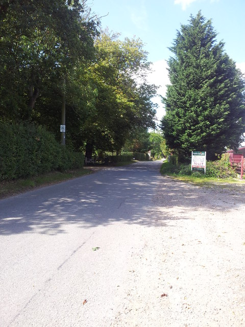 Scotts Hill towards Mickfield
