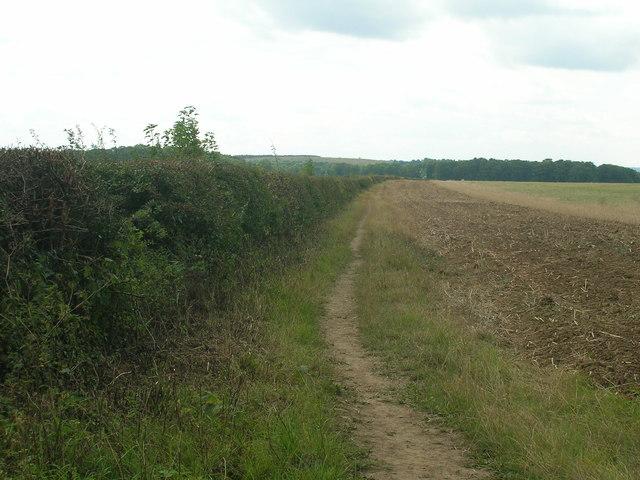 Salt Hill Road (bridleway) heading south