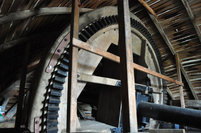 Old Buckenham Mill - Brake Wheel