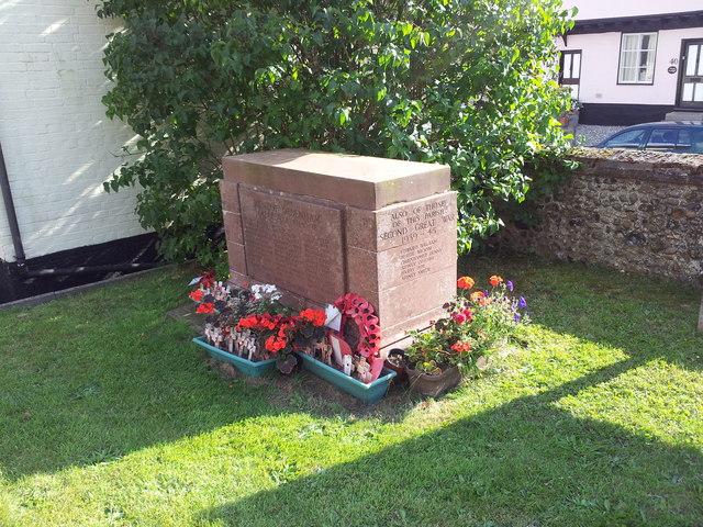 War Memorial, Debenham