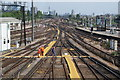 TQ2775 : Railway tracks and points at Clapham Junction by Bill Boaden