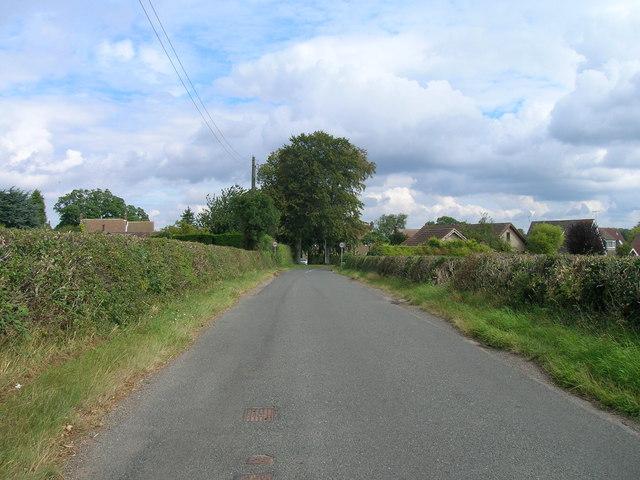 Gildingwells Road towards Letwell