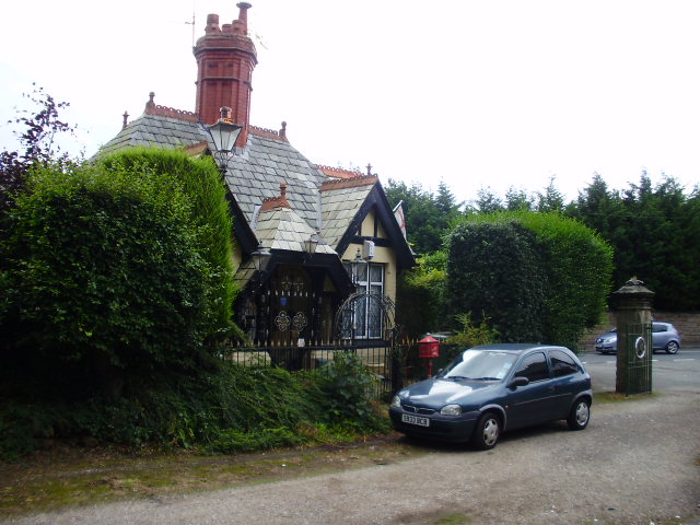 Lodge at the entrance to the Recreation Ground, Eastham