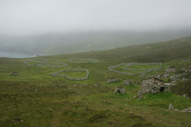 An Lag from the ascent to the Gap, St Kilda