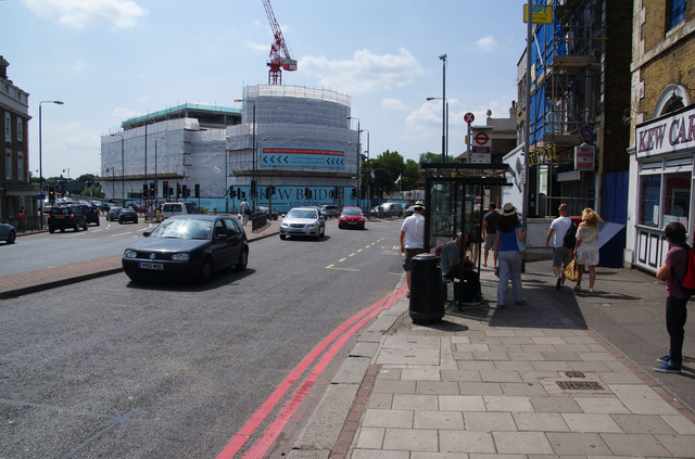 The A205 South Circular Road at Kew Bridge