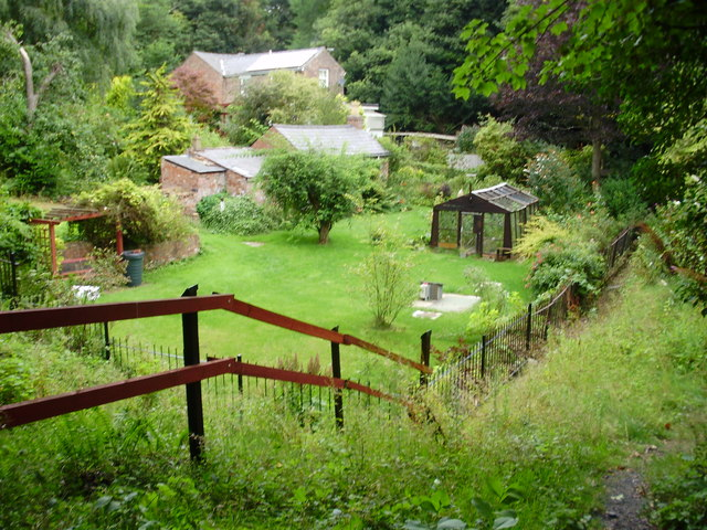 Garden near Lock Road, Eastham