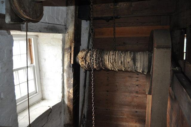 Buttrum's Mill - Sack Hoist