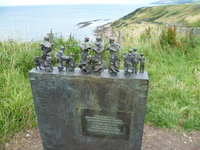East Coast Fishing Disaster memorial, Cove