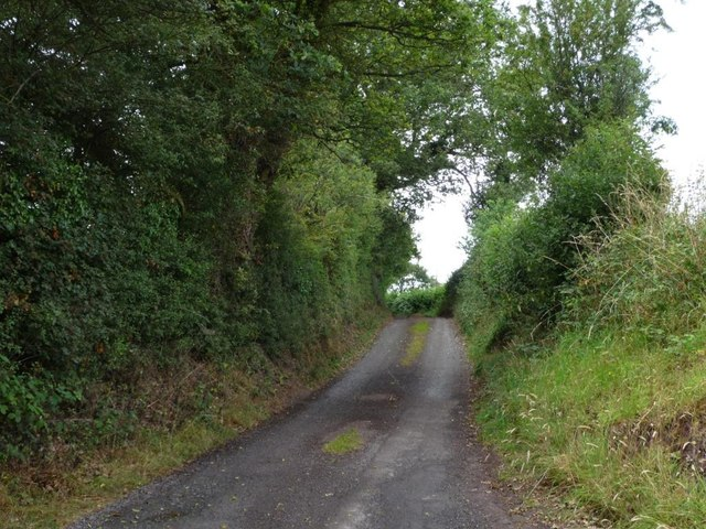 The narrow lane to Norbury