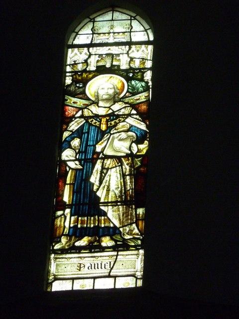 St Mary Horsham, chancel clerestory window- Daniel
