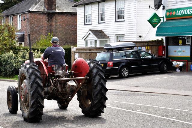Staplecross: Farm tractor