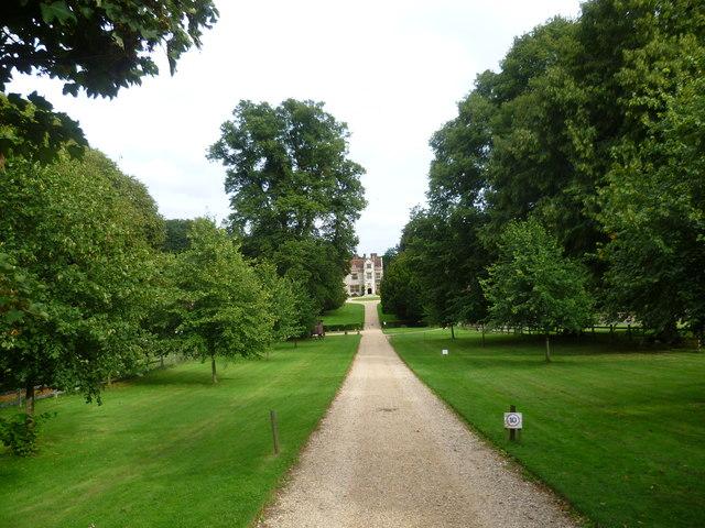 The driveway to Chawton House