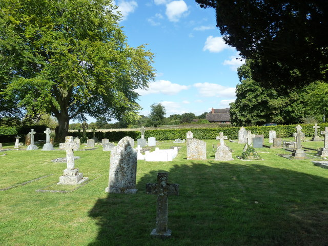 St Peter, Goodworth Clatford: churchyard (c)
