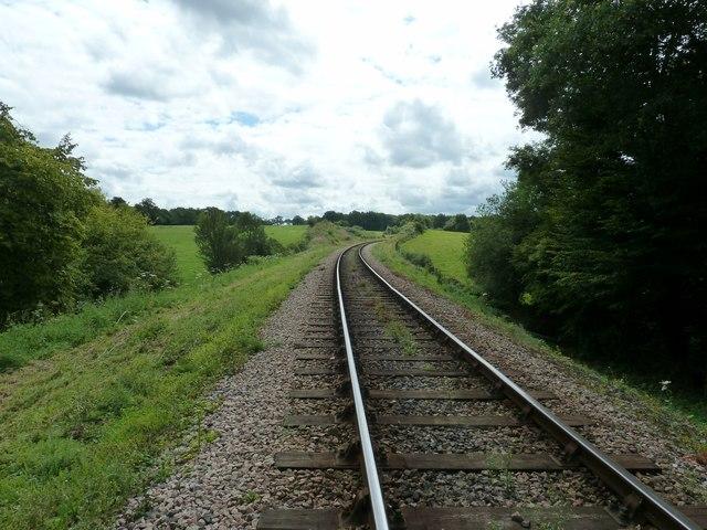 Southbound to Sheffield Park Station