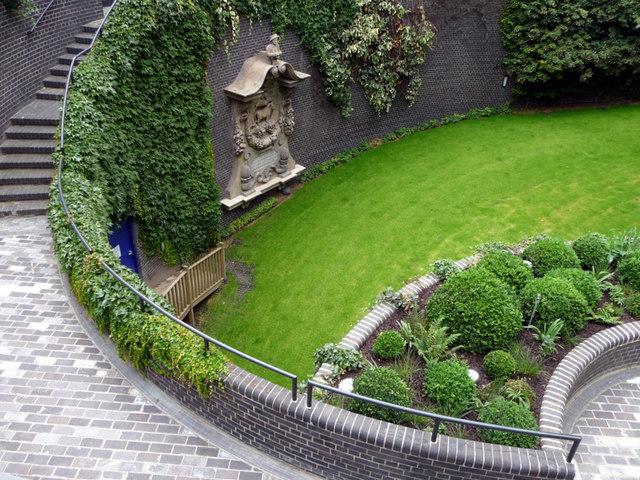 Sunken Garden Barbican London 169 Christine Matthews