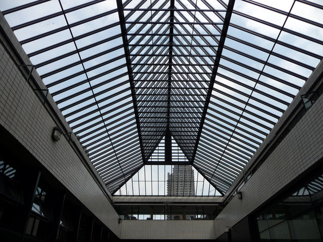 Roof Patterns, Barbican, London