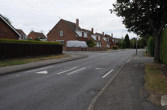 Hesters Way Road