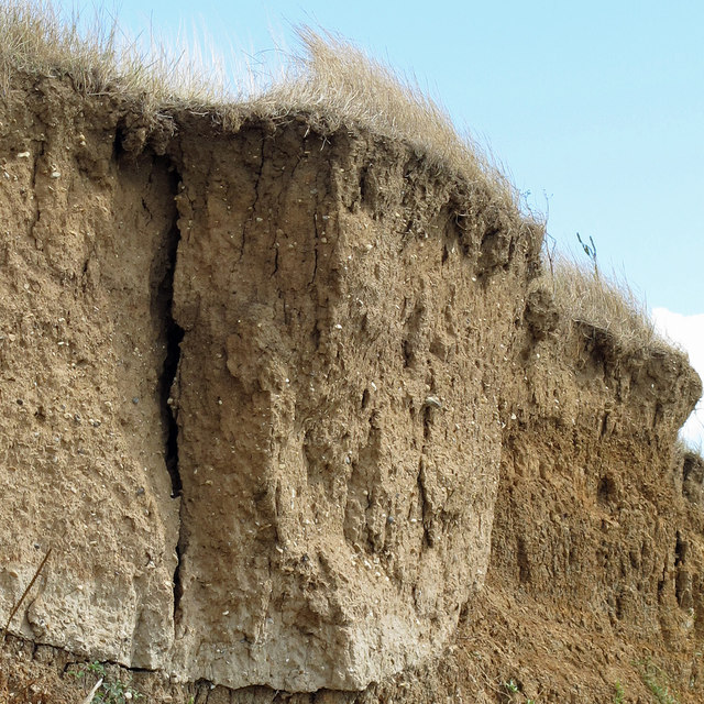 Eroding Cliff detail
