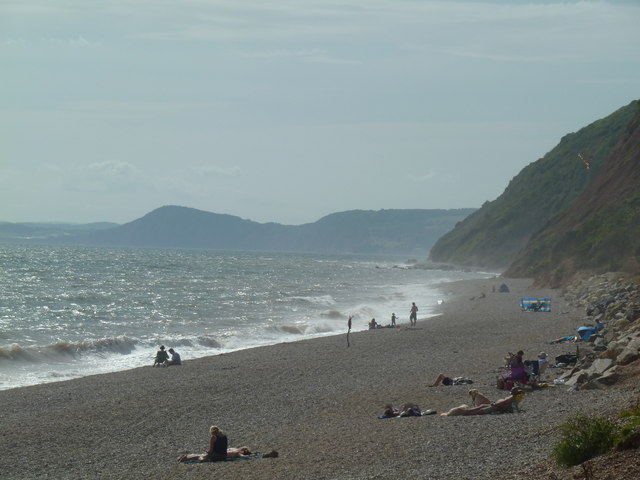 Beach at Branscombe Mouth