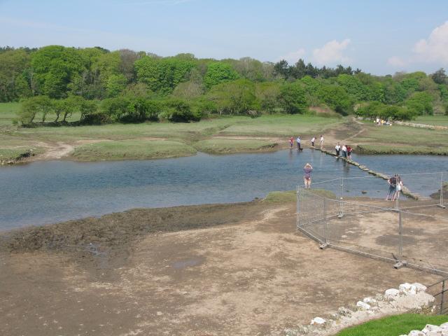 Footpath to Merthyr Mawr across Ogmore River