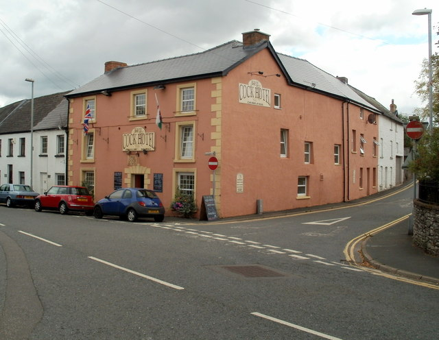 The Cock Hotel, Bronllys