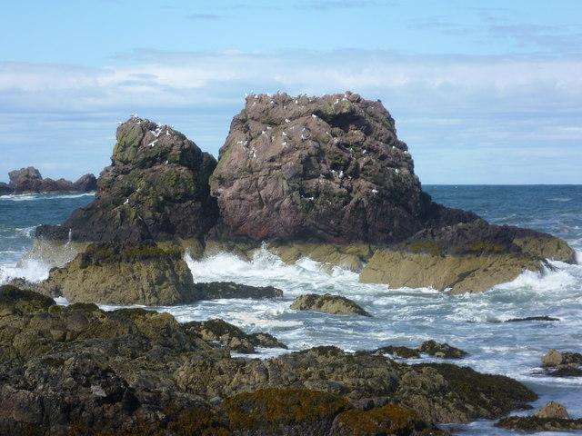 Rocks at St. Abbs