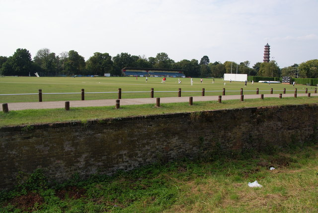 Sports facilities at the Old Deer Park, Richmond