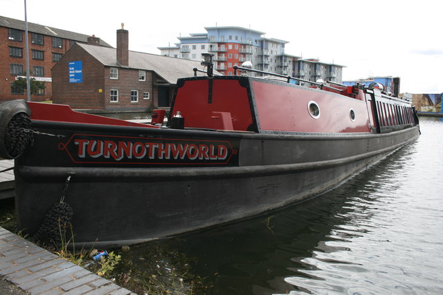 The Turnotheworld at Walsall town centre wharf