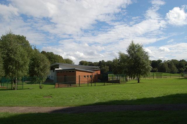 Bowls centre at Heaton Park