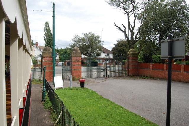 Gateway by Heaton Park Tramway