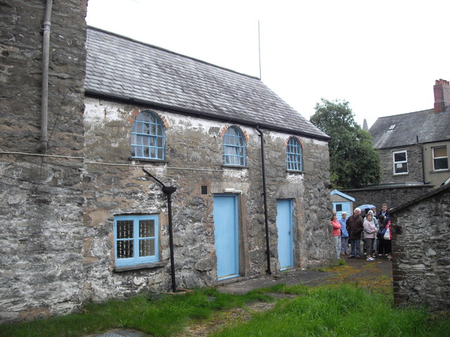 Site of the first theological college of the Calvinistic Methodists, Bala