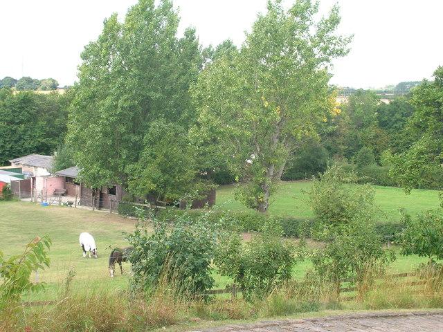 Farmland off Brampton Road