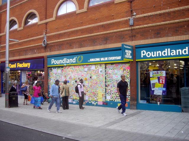 Peckham's peace wall Rye Lane Peckham