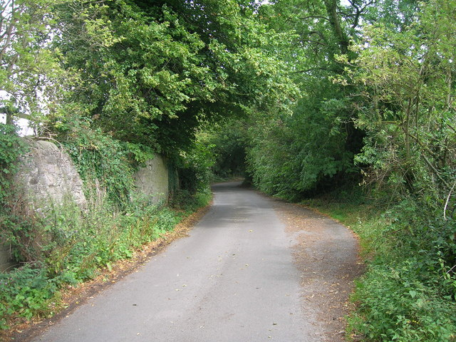 Bib Lane towards Carr