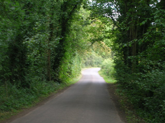 Minor road towards Firbeck