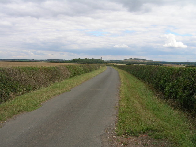 Thornbury Hill Lane towards the A60