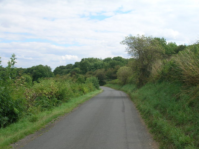 Styrrup Lane heading East