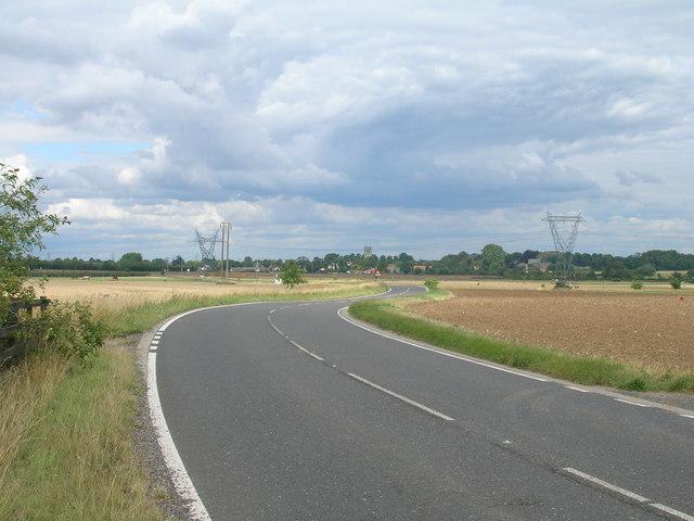 A60 towards Doncaster