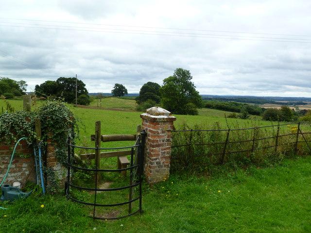 Chalbury, kissing gate