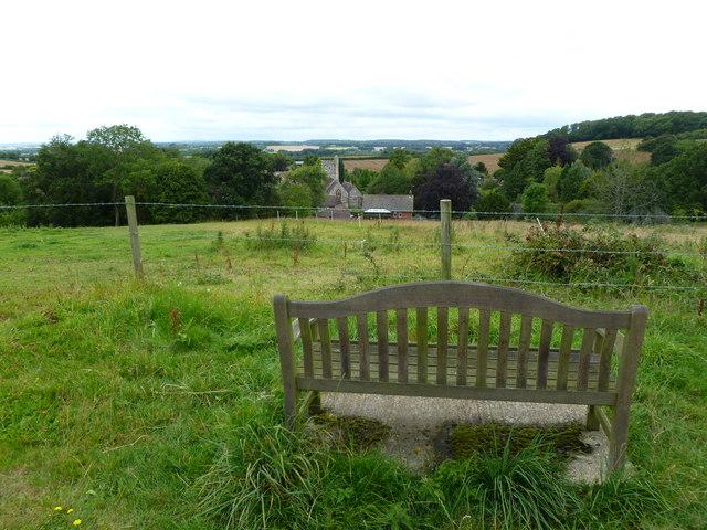 Hinton Martell, memorial seat