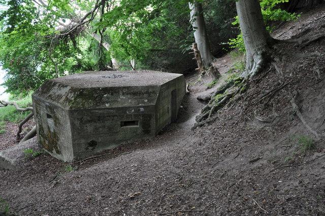 Pillbox, Lower Hartslock Wood