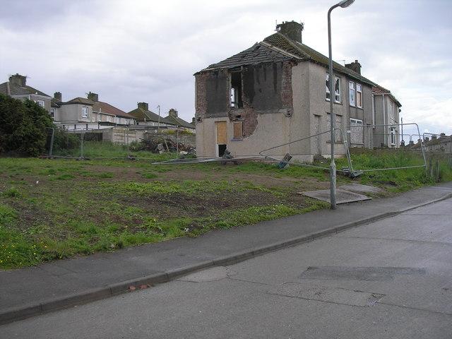 Demolished houses, Windermere Road