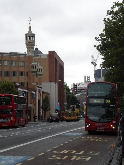 East London Mosque, Whitechapel Road E1
